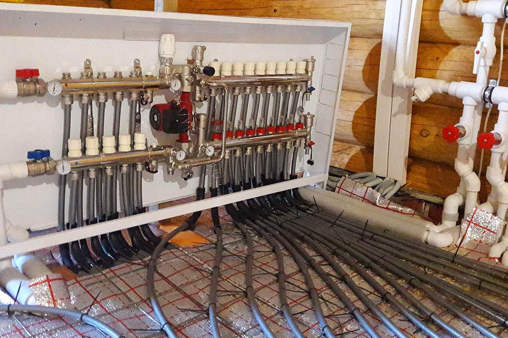 Монтаж отопления в частном доме в Архангельске